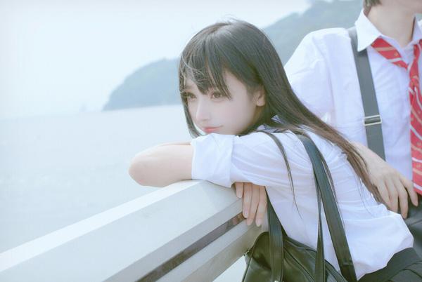 清纯软妹小柔seeu日系jk写真