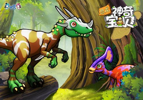 《恐龙神奇宝贝》:q版公益养成大有可为